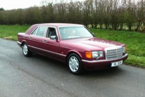 1989 (F) MERCEDES-BENZ W126 500 SEL AUTO STRETCH LIMO, BEAUTIFUL CONDITION