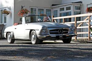 MERCEDES 190 SL Roadster LHD 1959 Petrol Manual in Silver