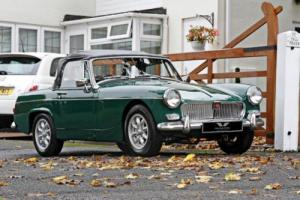 MG MIDGET 1100 1967 Petrol Manual in Green