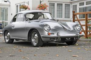 PORSCHE 356 B 1600 Coupe LHD, Silver, Manual, Petrol, 1961