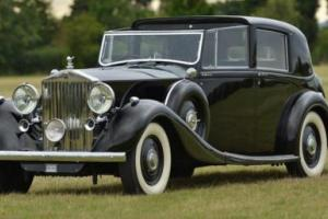 1939 Rolls-Royce Phantom III Hooper Crocodile Roof Sedanca Photo