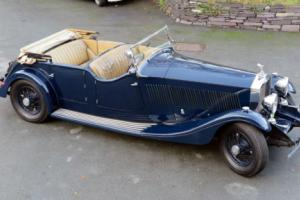 1935 Rolls-Royce Phantom II Four Door Sports Tourer 35TA Photo