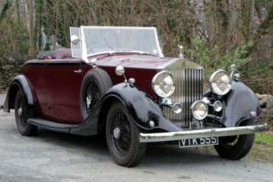 1938 Rolls-Royce 25/30 Open Roadster GGR57 Photo