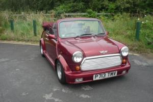 1996 Classic Mini Cabriolet in Nightfire Red only 17,000 miles