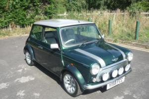 2001 Classic Rover Mini Cooper Sportspack in British Racing Green Photo