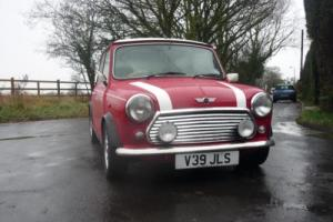2000 Classic Rover Mini Cooper Palmer S Works in Red Photo