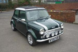 2000 Classic Rover Mini Cooper Sport in British Racing Green