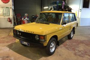 1979 Range Rover 2 Door Classic - 41k miles. Ex-Colin Chapman Lotus Founder Photo