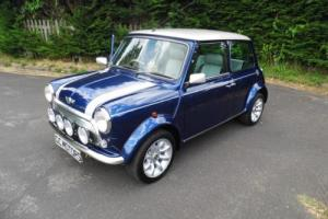 2001 Classic Rover Mini Cooper Sport 500 in Tahiti Blue only 173 miles Photo