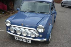 1999 Classic Rover Mini 40 LE in Island Blue Photo