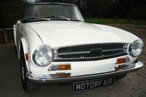 1971 Triumph TR6 PI 150 bhp Overdrive Photographic Body Off Restoration