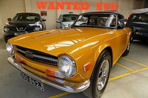 Triumph TR6,Spitfire,Vitesse,Stag,MG, MGB,Midget,MGA, CLASSIC CARS , WANTED ££££ Photo
