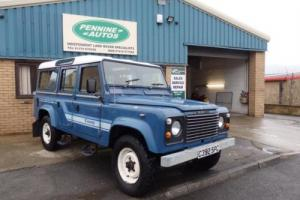 1986 C LAND ROVER DEFENDER 110 2.5 4CYL COUNTY STATION WAGON