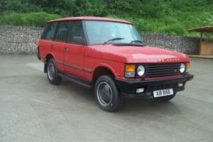 Land Rover Range Rover LPG Low Miles with 12mot Tel Lee 07780 161585