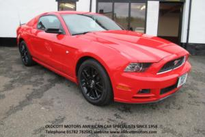 2015 FORD MUSTANG FP6 SPORT 3.7 LITRE V6 305 BHP RED WITH BLACK INTERIOR
