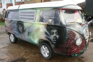 Volkswagen Camper Westfaila, airbrushed hippy wagon.