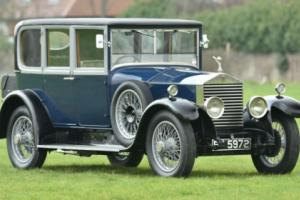 1926 Rolls Royce Hooper Owner driver six light saloon
