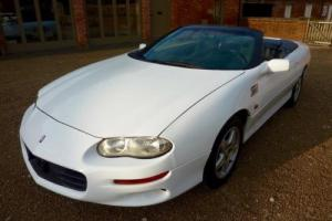 CHEVROLET CAMARO CONVERTIBLE 3.8 AUTO 1998 COVERED 47K MILES FROM NEW STUNNING