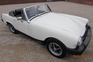 MG MIDGET 1975 - COVERED ONLY 100 MILES SINCE RESTORATION COMPLETED Photo