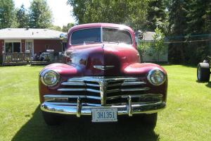 Chevrolet: Fleetmaster town sedan