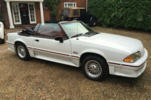 Ford Mustang 5.0 GT CONVERTIBLE 1988 E IMMACULATE