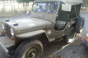 Jeep Willys 4 Wheel Drive RHD OFF Road Photo