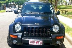 Jeep Cherokee Limited 4x4 2004 4D Wagon Automatic 3 7L Multi Point in QLD
