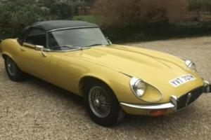 1973 JAGUAR E-TYPE 5.3 OPEN 2D Photo