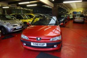 Peugeot 306 2.0 16v auto Cabriolet 1 OWNER ONLY 31,000 MILES POWER HOOD