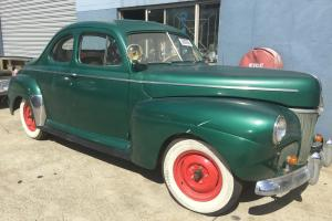 1941 Ford Super Deluxe Coupe in QLD