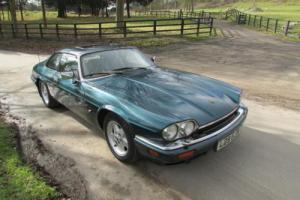 1993/L Jaguar XJS 4.0 auto Metallic Green 27 Service Stamps Photo