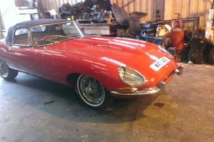 1962 JAGUAR E - TYPE 3.8 CONVERTIBLE SERIES 1