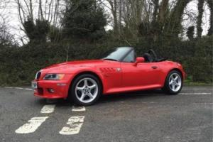 1997 R BMW Z3 2.8 MANUAL WIDEBODY ROADSTER VERY RARE HELL RED ONLY 64000 MILES