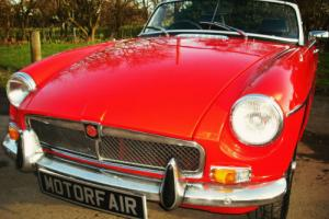 MG MGB ROADSTER OVERDRIVE, HISTORIC ROAD TAX Photo
