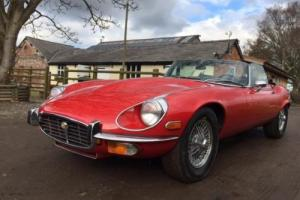 1973 Jaguar 'E' TYPE V12 5.3 Convertible LHD Photo