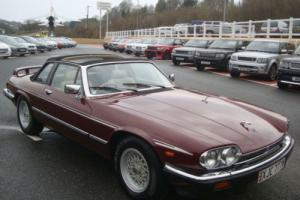 1986 (C) JAGUAR XJ.SC 5.3 V12 CABRIOLET Auto with only 48,000 miles