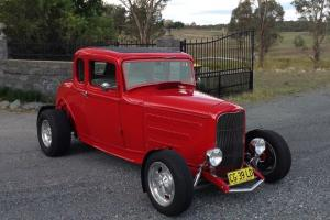 1932 Ford Coupe Steel Hotrod