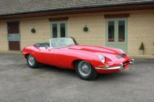 1967 JAGUAR E TYPE 4.2 ROADSTER SERIES 1½