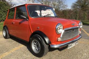 "1992 Rover Mini 1293cc. ""The Volacno"". Awesome looks, many extras and great fun."