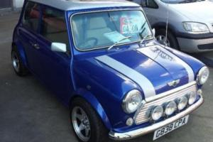 ROVER MINI CITY E, Blue, Manual, Petrol, 1989