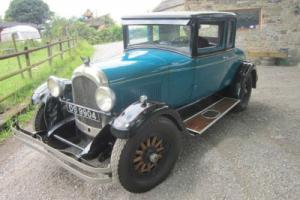 1926 CHRYSLER G70 GOLFERS COUPE 3582CC (blue)