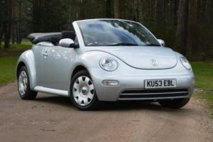 2003 Volkswagen Beetle Cabriolet (1.6 litre) Photo