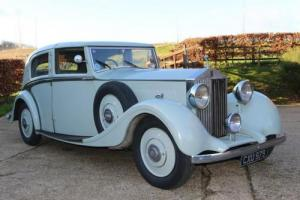 1936 Rolls-Royce 25/30 Sedanca de Ville by Park Ward