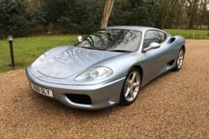 2000 Ferrari 360 Coupé Photo