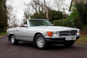 1980 Mercedes-Benz 450 SL Roadster Photo