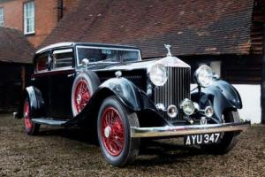 1934 Rolls-Royce 20/25 Special Touring Saloon by Park Ward Photo
