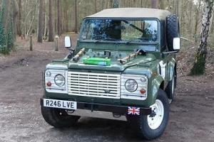 1998 Land Rover Defender Wolf XD90 (HD) Photo