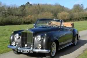 1962 Rolls-Royce II Drophead Coupé Adaptation by H.J Mulliner