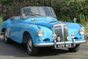 1956 Daimler Conquest Drophead Coupe DJ254 Photo