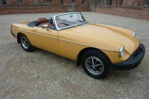 MGB ROADSTER 1976 - REPAINTED NOVEMBER 2015 - STUNNING EXAMPLE OF THE MGB Photo